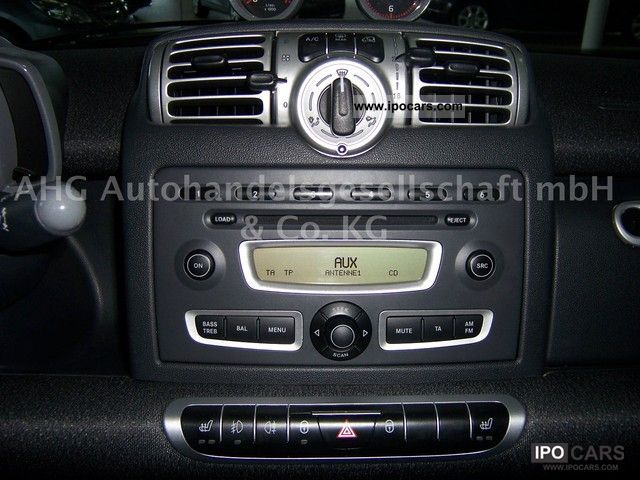2008 smart softouch brabus power heated seats sound system. Black Bedroom Furniture Sets. Home Design Ideas