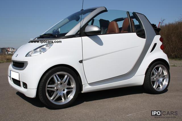 2008 smart brabus cabriolet original 98 hp brown leather. Black Bedroom Furniture Sets. Home Design Ideas