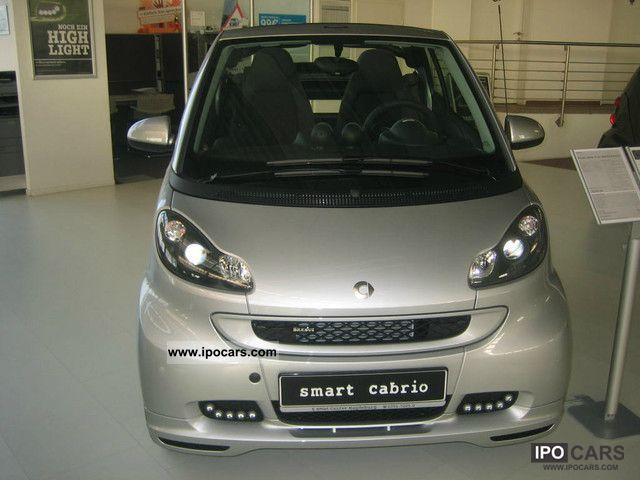2012 smart cabrio brabus xclusive car photo and specs. Black Bedroom Furniture Sets. Home Design Ideas