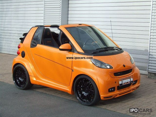 2007 Smart Brabus Ultimate 112 Car Photo And Specs