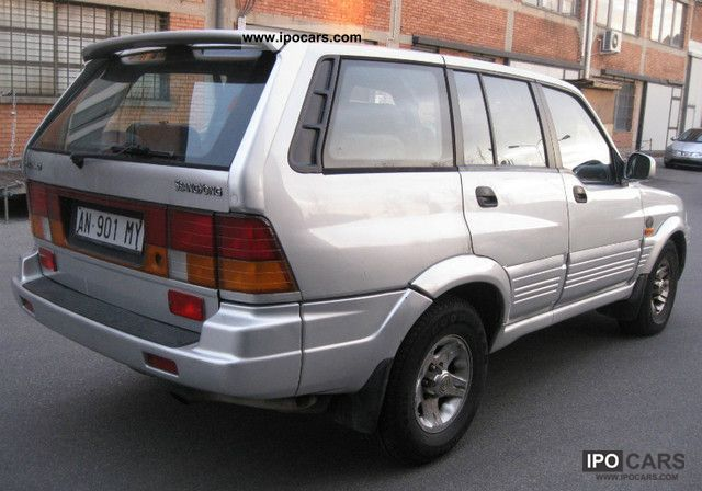 1996 Ssangyong Musso 2 3 Automatica Car Photo And Specs