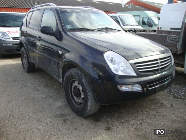 2004 ssangyong rexton rx 270 automatic xdi car photo and. Black Bedroom Furniture Sets. Home Design Ideas