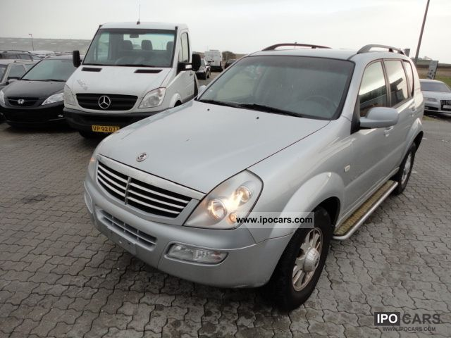 2005 ssangyong rexton rx 270 automatic xdi car photo and. Black Bedroom Furniture Sets. Home Design Ideas