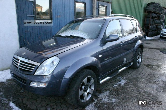 2005 ssangyong rexton rx 270 xdi automatic fuel charger. Black Bedroom Furniture Sets. Home Design Ideas