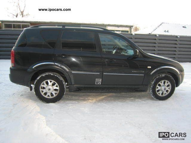 2006 ssangyong rexton rx 270 xdi automatic 3 s car. Black Bedroom Furniture Sets. Home Design Ideas
