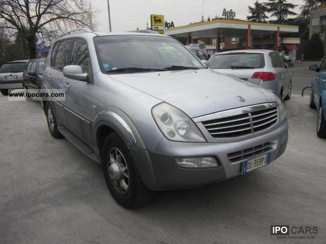 2005 ssangyong rexton 2 7 xdi car photo and specs. Black Bedroom Furniture Sets. Home Design Ideas