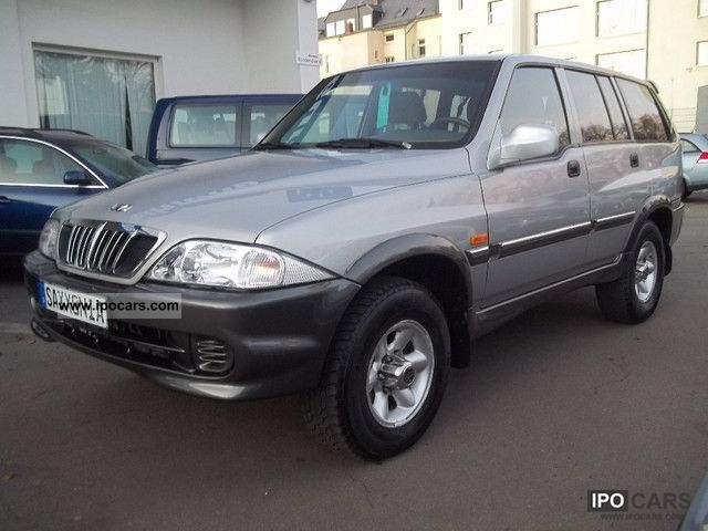 2002 Ssangyong Musso Td El Car Photo And Specs