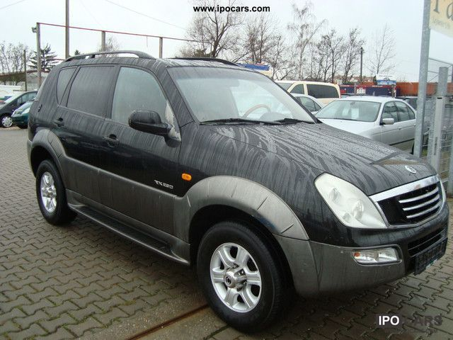 2004 ssangyong rexton rx 290 automatic euro 3 car photo. Black Bedroom Furniture Sets. Home Design Ideas