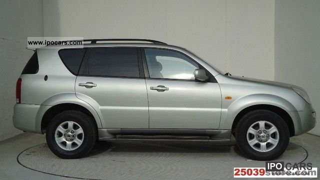 2003 ssangyong rexton rx 290 car photo and specs. Black Bedroom Furniture Sets. Home Design Ideas