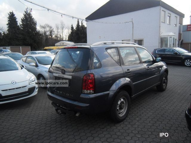 2005 ssangyong rexton rx 270 4wd auto xdi leather air. Black Bedroom Furniture Sets. Home Design Ideas