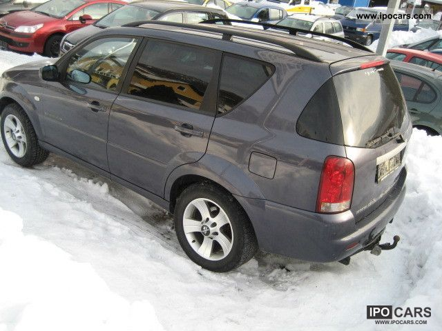 2005 ssangyong rexton rx 270 xdi car photo and specs. Black Bedroom Furniture Sets. Home Design Ideas