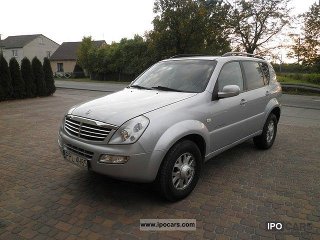 2005 ssangyong rexton 4x4 zarejestrowany car photo and specs. Black Bedroom Furniture Sets. Home Design Ideas