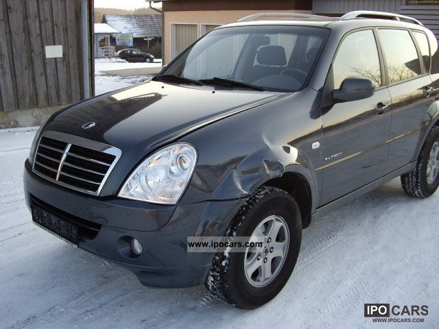 2006 ssangyong rexton rx 270 xdi accident new model. Black Bedroom Furniture Sets. Home Design Ideas