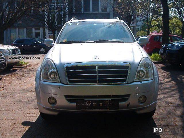 2007 ssangyong rexton rx 270 4x4 automatic xdi 7000netto. Black Bedroom Furniture Sets. Home Design Ideas