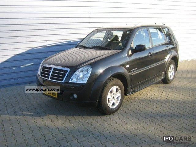 2007 ssangyong rexton rx 270 awd s xdi automaat car. Black Bedroom Furniture Sets. Home Design Ideas