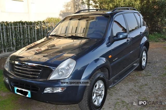 2003 Ssangyong  REXTON Off-road Vehicle/Pickup Truck Used vehicle photo