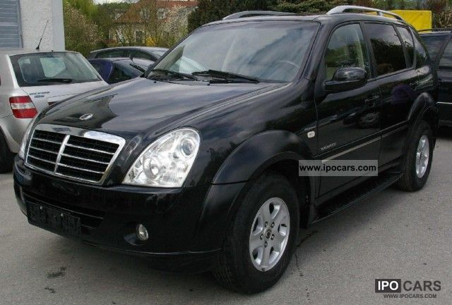 2007 ssangyong rexton rx 270 xdi 4 automatic. Black Bedroom Furniture Sets. Home Design Ideas