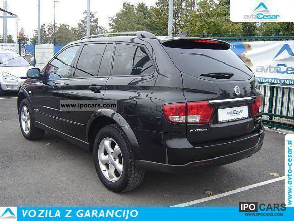 ssangyong kyron xdi dlx  aac car photo  specs