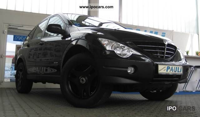Ssangyong  Actyon 230 2WD with LPG (liquefied petroleum gas) system! 2007 Liquefied Petroleum Gas Cars (LPG, GPL, propane) photo