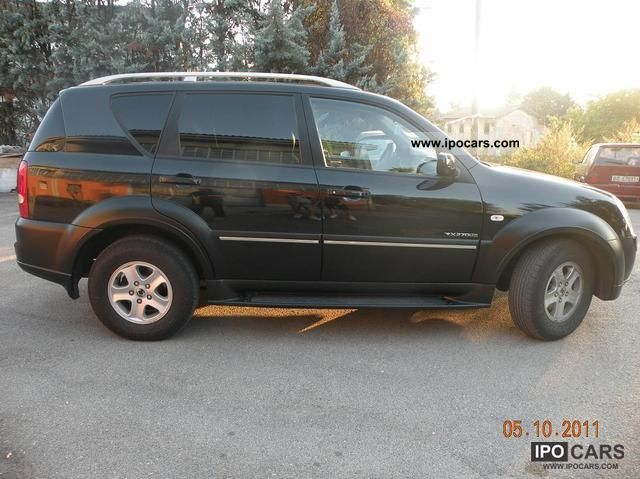 2009 Ssangyong Rexton Xdi Rx 270 4 S Car Photo And Specs