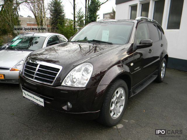 2009 ssangyong rexton 4wd car photo and specs. Black Bedroom Furniture Sets. Home Design Ideas