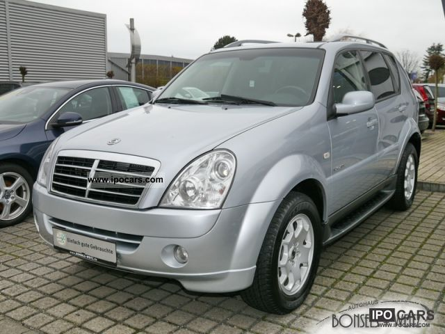 2009 ssangyong rexton 270 xvt apc automatic leather car. Black Bedroom Furniture Sets. Home Design Ideas