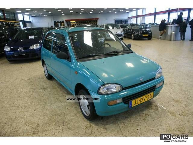 1994 Subaru Vivio Gli Car Photo And Specs