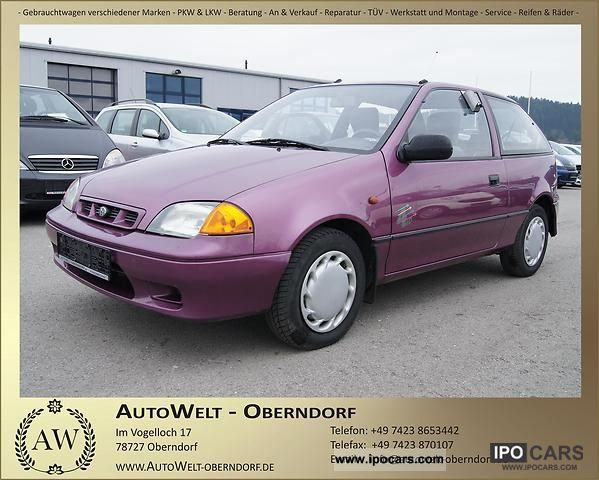 1997 Subaru  Justy 1.3 GX *** 2.Hand wheel radio / CD *** Small Car Used vehicle photo