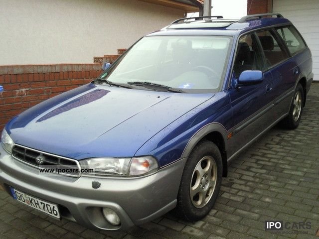 1998 subaru legacy 2 5 4wd auto outback ahk air car photo and specs ipocars com
