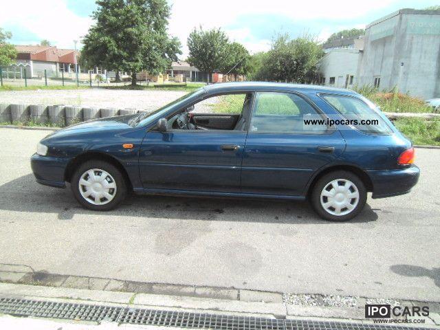 1998 Subaru Impreza 1 6 Gl 4wd Game Car Photo And Specs