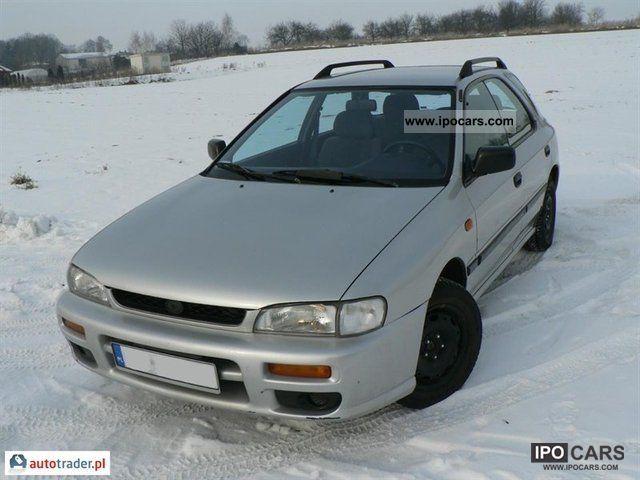 Subaru  Impreza 1996 Liquefied Petroleum Gas Cars (LPG, GPL, propane) photo