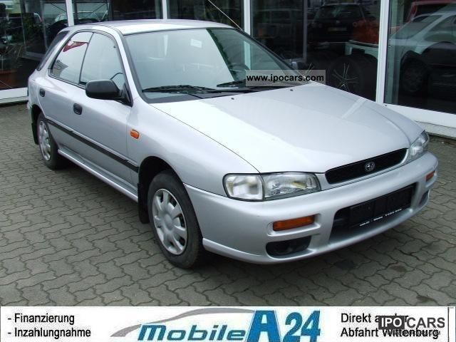 Subaru  GL Impreza 1.6 4WD AUTO GAS 1997 Liquefied Petroleum Gas Cars (LPG, GPL, propane) photo