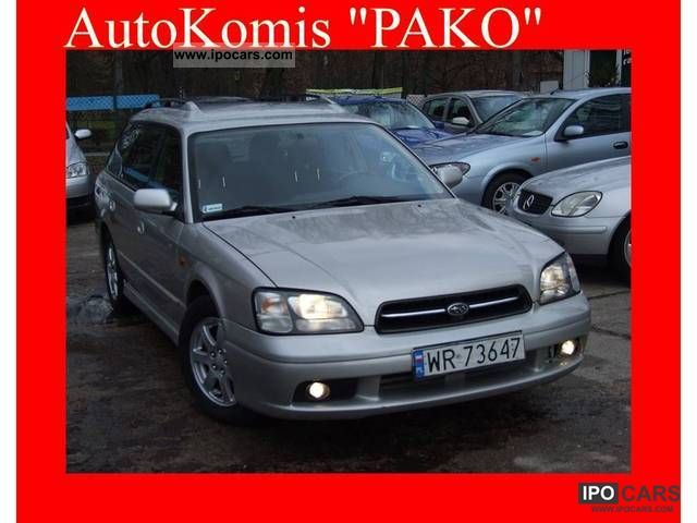 Subaru  Legacy 2.5 + GAZ 4X4 AIR 156km ALUSY 2001 Liquefied Petroleum Gas Cars (LPG, GPL, propane) photo