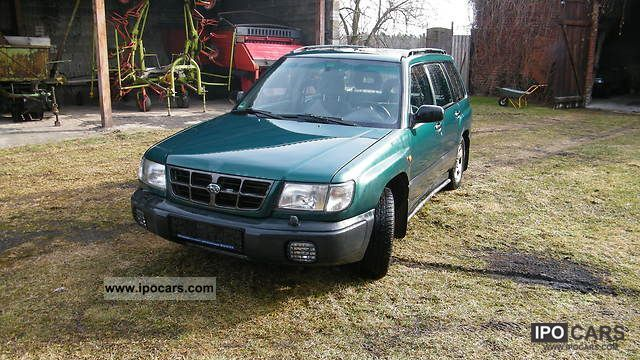Subaru  Forester 2.0 GX 1999 Liquefied Petroleum Gas Cars (LPG, GPL, propane) photo
