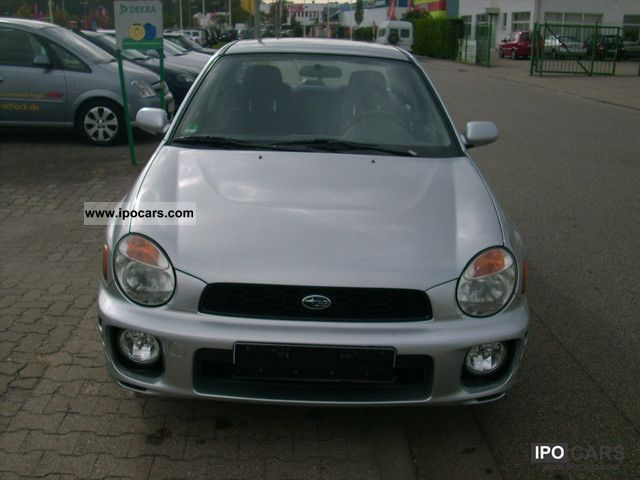 2002 Subaru  Impreza 2.0 GX Limousine Used vehicle photo