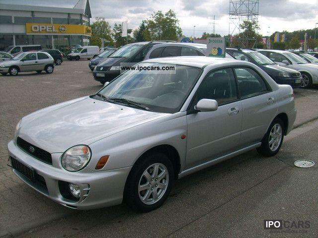 2002 Subaru Impreza 2 0 Gx Car Photo And Specs