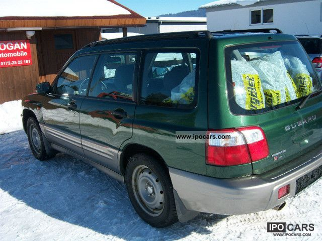 2001 subaru forester s turbo automatic transmission air 3 car photo and specs ipocars com