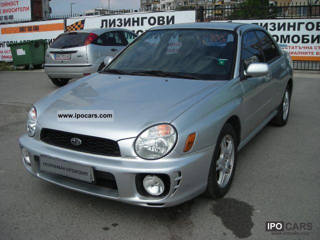 2002 Subaru  Impreza 2.5i/156PS Limousine Used vehicle photo