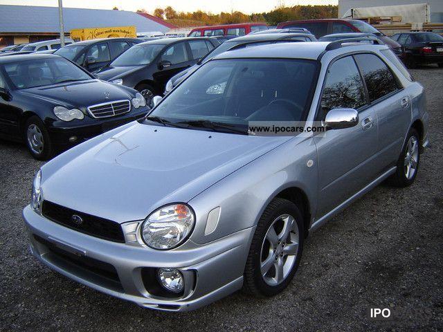 Mitsubishi Electric Remote >> 2002 Subaru Combination Impreza GX - Car Photo and Specs