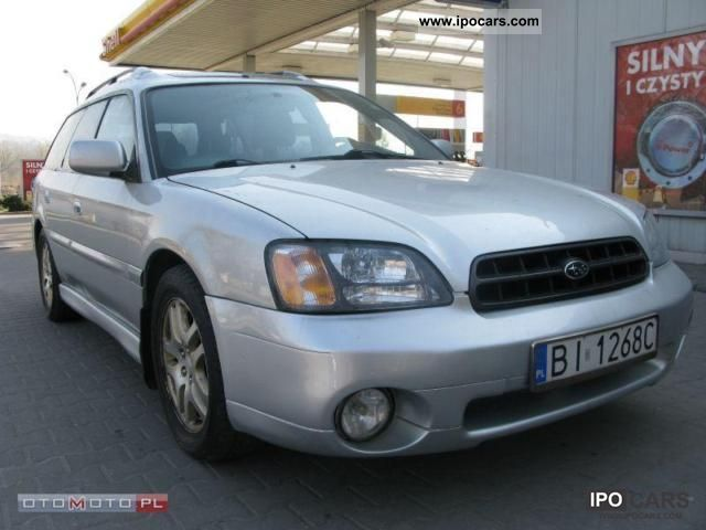 Subaru  Legacy 2.5 BENZ + GAZ 2003 Liquefied Petroleum Gas Cars (LPG, GPL, propane) photo