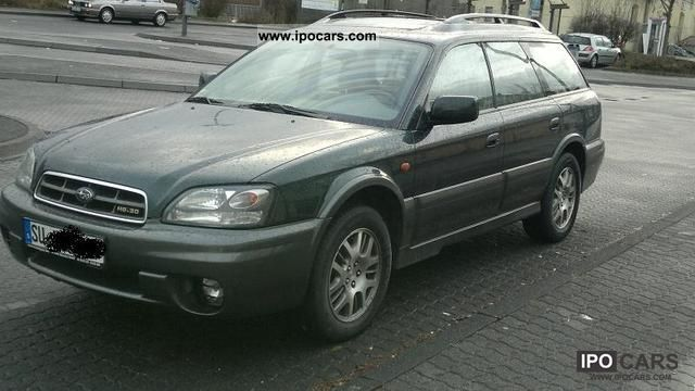 2002 subaru outback h6 3 0 car photo and specs. Black Bedroom Furniture Sets. Home Design Ideas