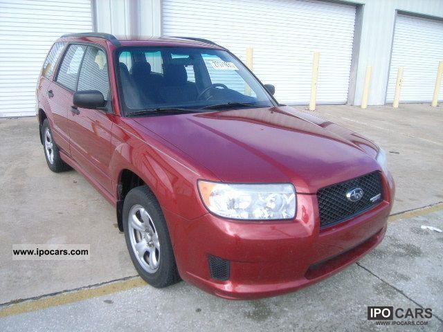 2007 Subaru  FORESTER Limousine Used vehicle (business photo