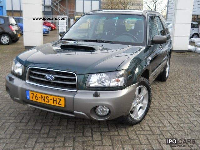 2004 subaru forester 2 0 xt awd automaat car photo and specs. Black Bedroom Furniture Sets. Home Design Ideas