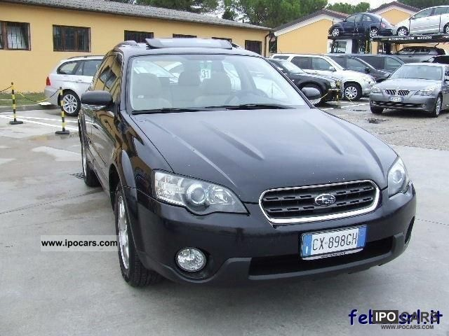 Subaru  OUTBACK 2.5 16V JTG FY Bi-Fuel Automatica navigation 2005 Liquefied Petroleum Gas Cars (LPG, GPL, propane) photo