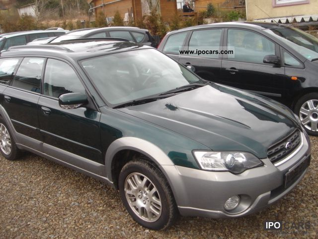2004 subaru outback 2 5 car photo and specs. Black Bedroom Furniture Sets. Home Design Ideas