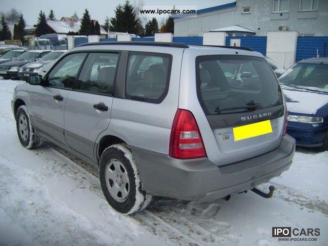 2004 Subaru Forester 2 0x Serwis Opłacony Car