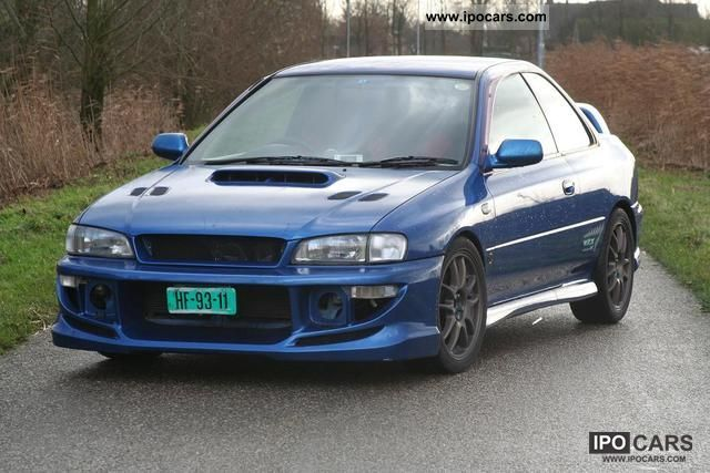 1997 Subaru STI Type R Coupe JDM DCCD 2 Door! Sports Car/Coupe