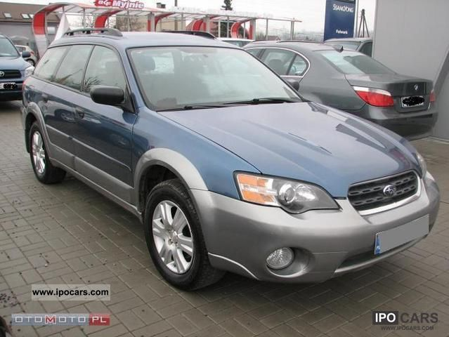 Subaru  OUTBACK AWD GAZ 2005 Liquefied Petroleum Gas Cars (LPG, GPL, propane) photo