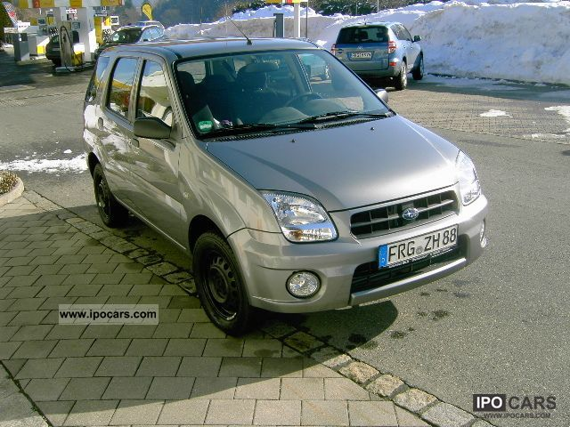 2007 Subaru  G3X Justy 1.3 - 8-frosted (summer-Alu) Small Car Used vehicle photo