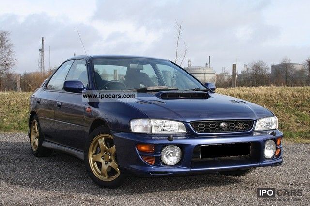 2000 subaru impreza 2 0 4wd gt car photo and specs. Black Bedroom Furniture Sets. Home Design Ideas